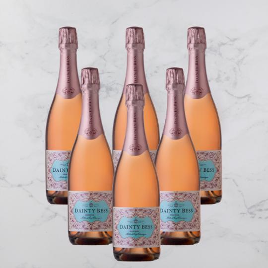 Dainty Bess Six Bottle Case