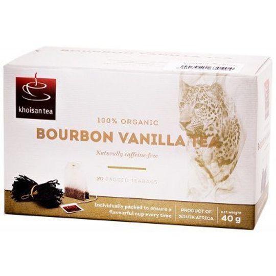 Khoisan Tea Org R/Bos Bourbon Vanilla