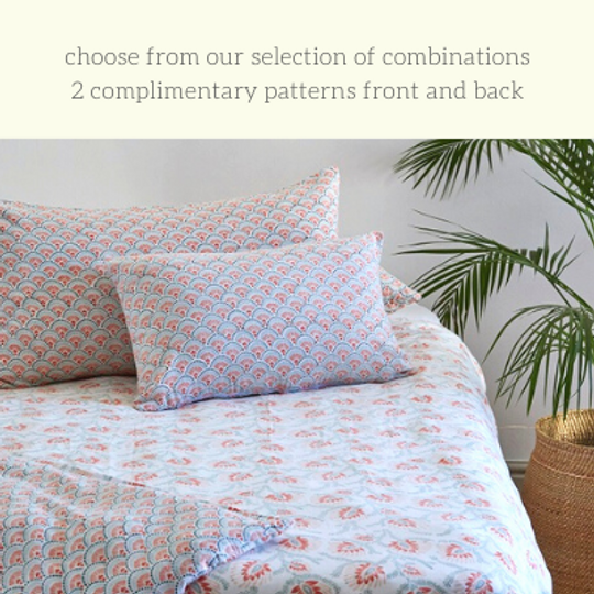 Duvet Sets:  Reversible Patterns