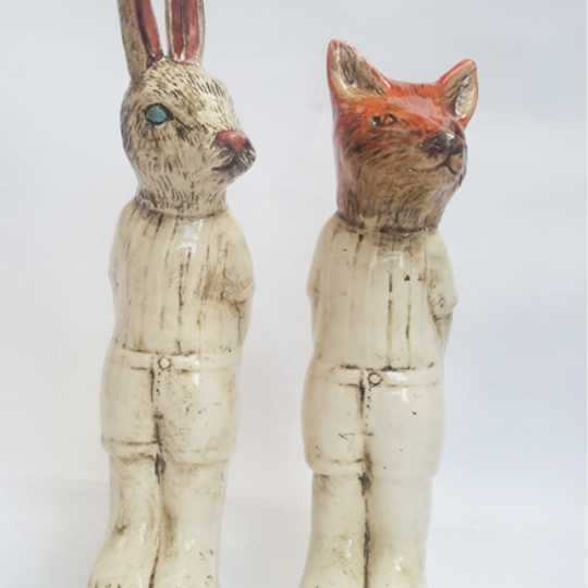 Mr Fox and Mr Rabbit