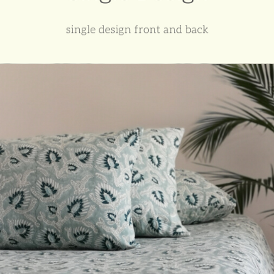 Duvet Sets:  Single Pattern