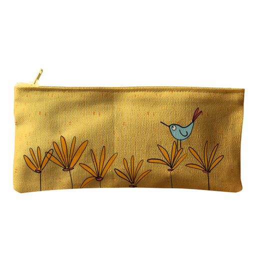 Sunbird zip and pencil bag