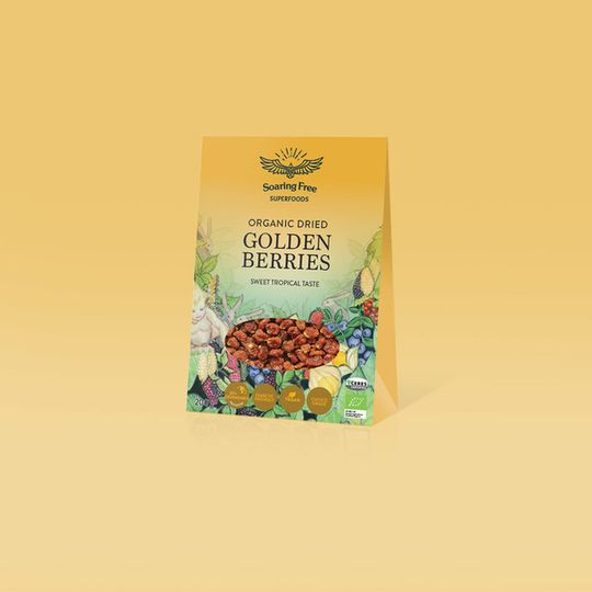 SOARING FREE SUPERFOODS Organic Golden Berries - 200g