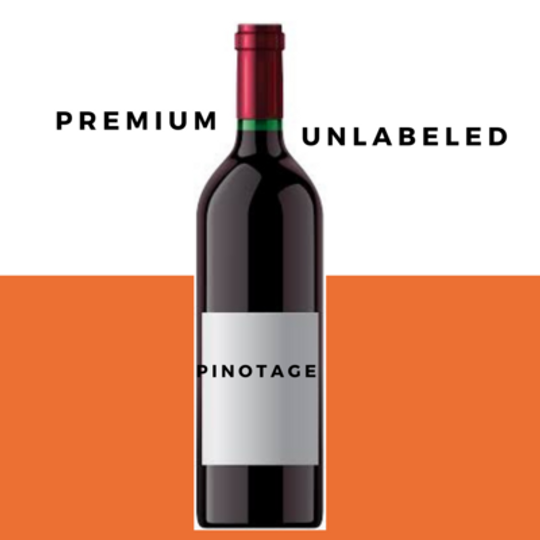 Odd Bin Premium Pinotage Unlabeled Case 6