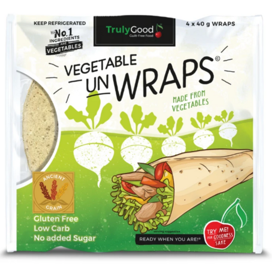 Low carb Vegetable Wrap With Ancient Grain