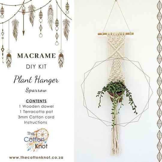 Small Plant Hanger Kit - Sparrow