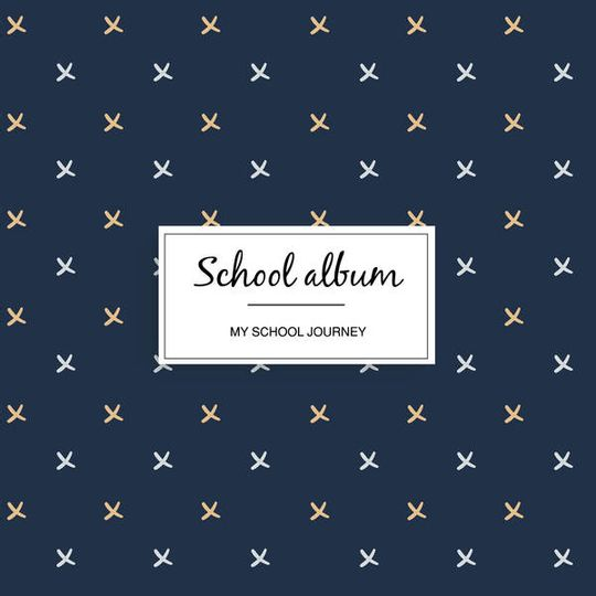 School album - Navy