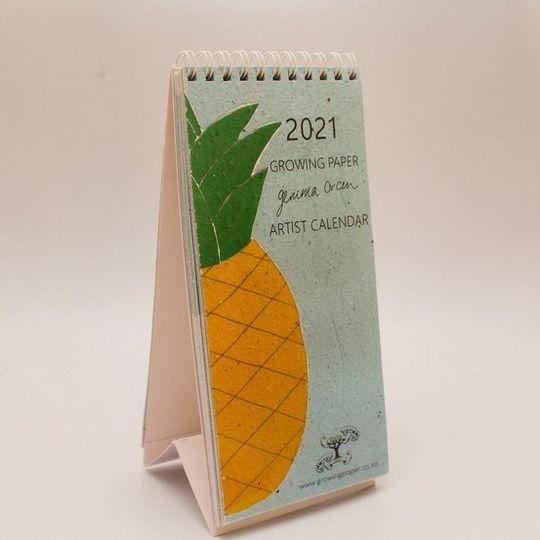 2021 Growing Paper Artwork Calendar