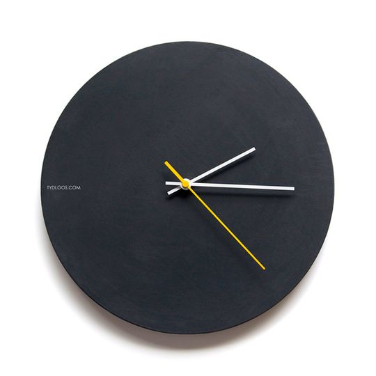 Black Board Wall Clock