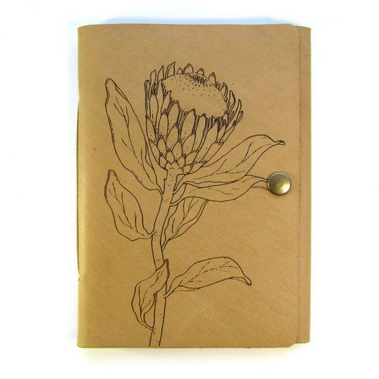 Travel Journal (A6 size) - Single Protea