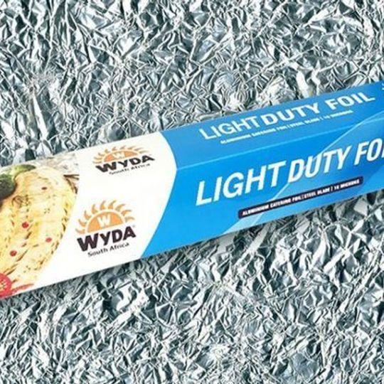 WLDF-70 Light Duty Catering Aluminium Foil 70m x 440mm.