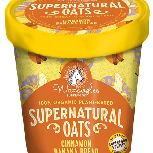 Wazoogles Supernatural Oats - Cinnamon Banana Bread pot