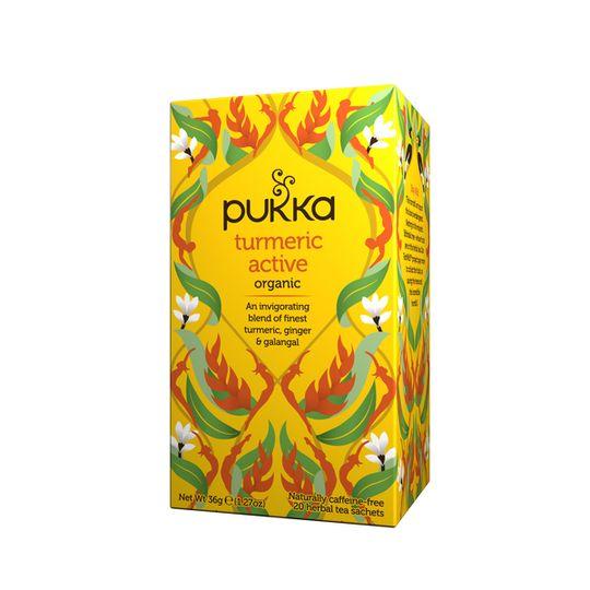 Pukka Organic Turmeric Active Tea (box of 20 teabags)