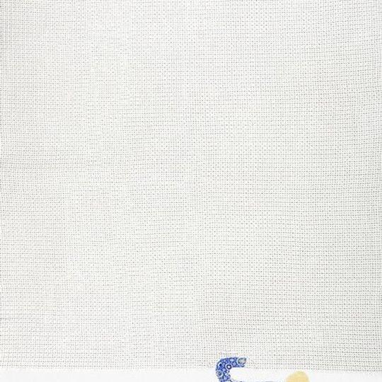 Cotton Blanket / Unisex - Elephant Blue Dots - M0102