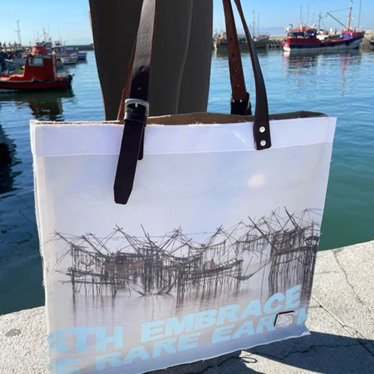 Crab Nets - Canvas Carrier bag