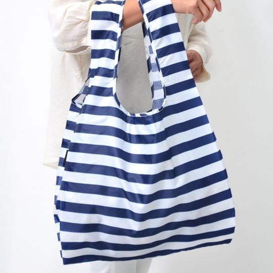 MyBaguse Stripe Reusable Shopping Bag