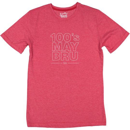 '100's MAYBRU' Mens Tee