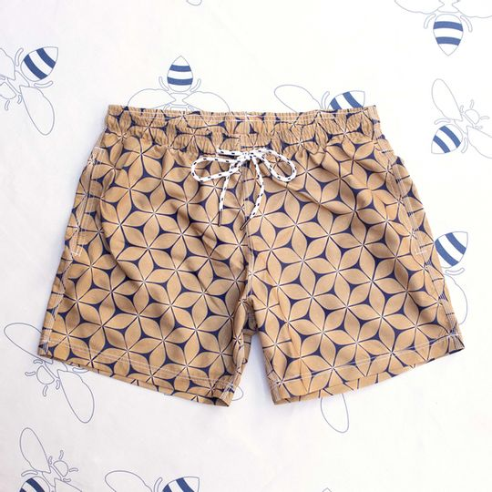 Radiant Flower Shorts