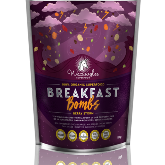 Wazoogles Superfood Breakfast Bombs - Berry Storm