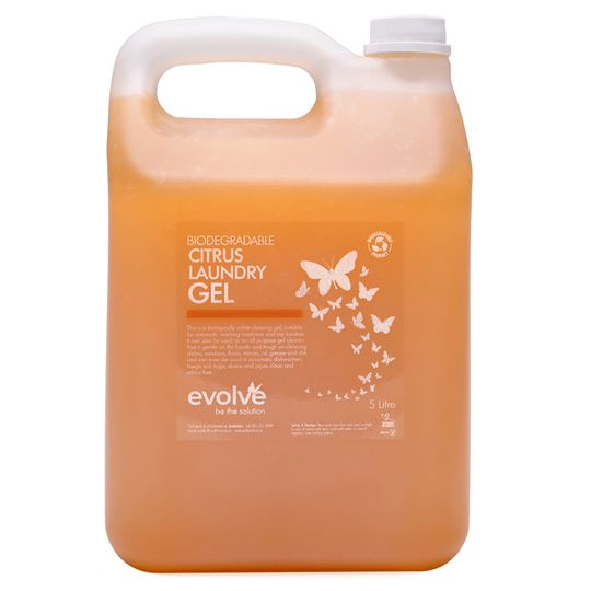Evolve Citrus Laundry Gel 5L