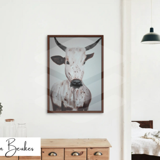 Brown Nguni | Original Prints on Fine Art Paper