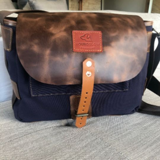 Woodsman Bag - Canvas and leather