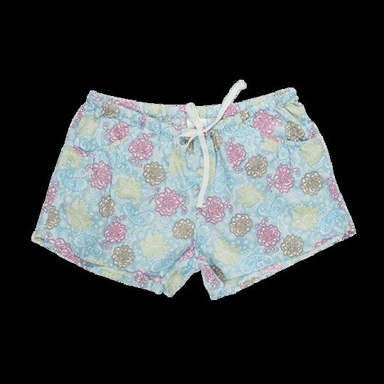 Short Pants - Pockets Paisley