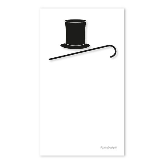 10 Little Letters - Top Hat & Cane