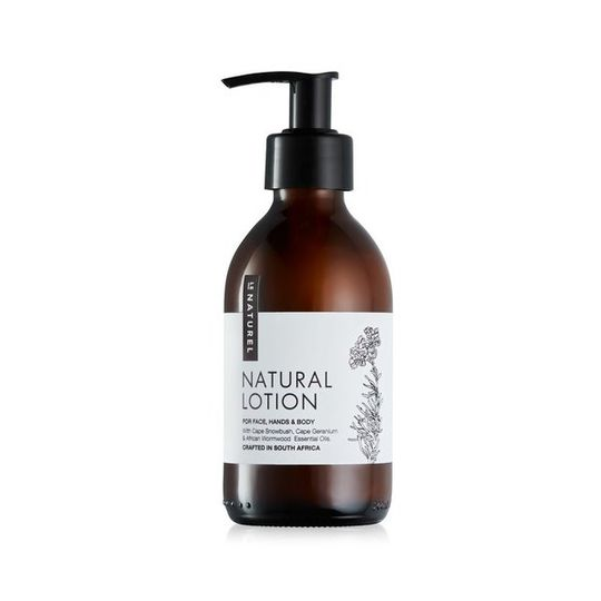 Natural Lotion (200ml)- For Hands, Face & Body