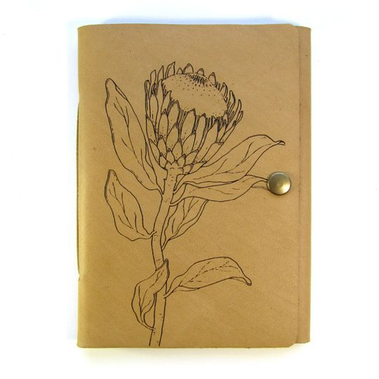 Travel Journal (A6 size) - Single Protea