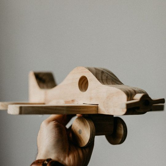 Wooden toy - Airplane