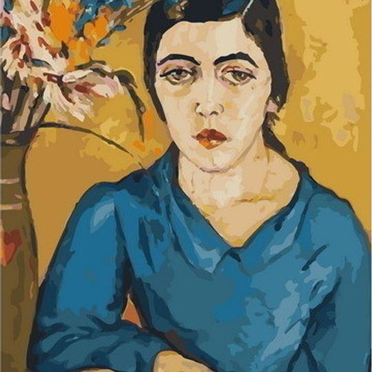 Irma Stern: Portrait of an Indian Woman