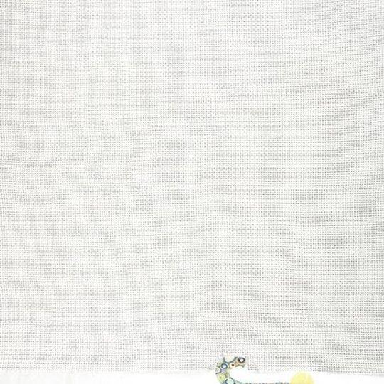 Cotton Blanket / Unisex - Elephant Avo Dots - M0332