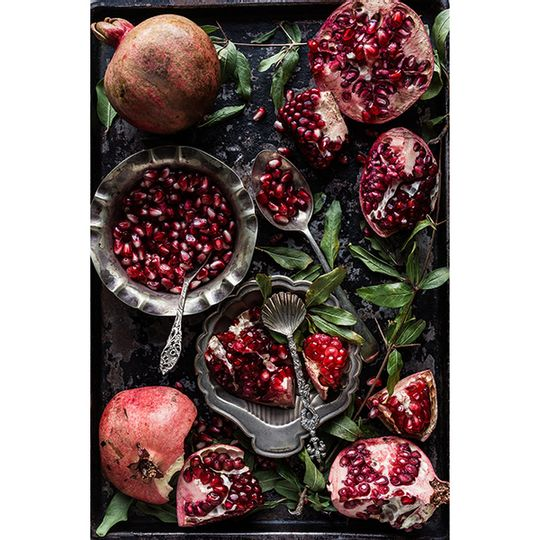 Tablecloth - Baking Tray with Pomegranates