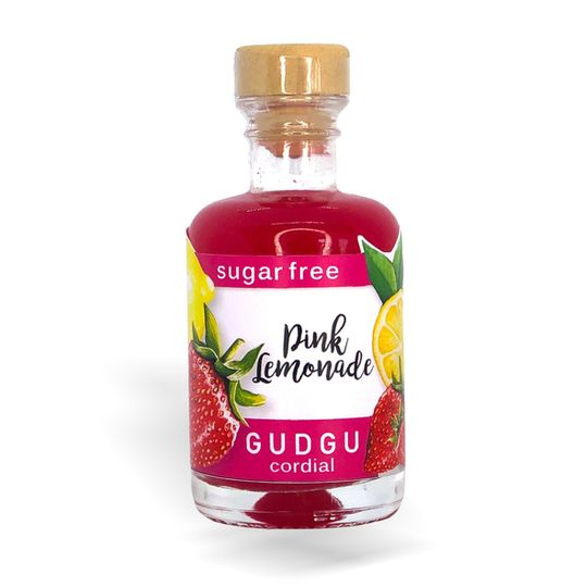 GUDGU SugarFREE Pink Lemonade Mini Cordial 50ml