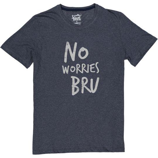 'No Worries Bru' Mens Tee