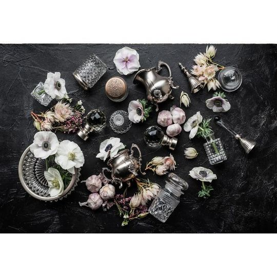 WS Placemats - Crystal Noir