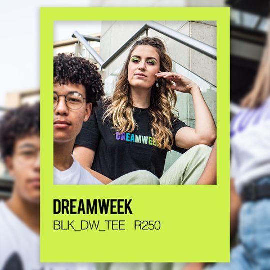 DREAMWEEK BLK_DW_TEE