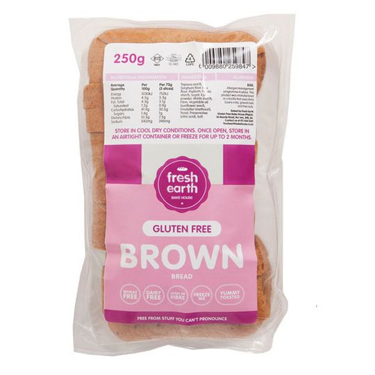 Fresh Earth Brown Bread 320g