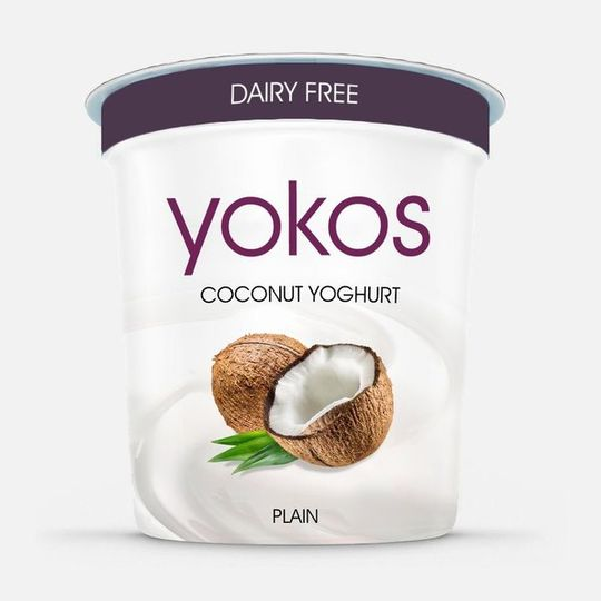 YOKOS Coconut Yogurt Plain (500ml)
