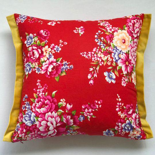 Posy Blush Cushion