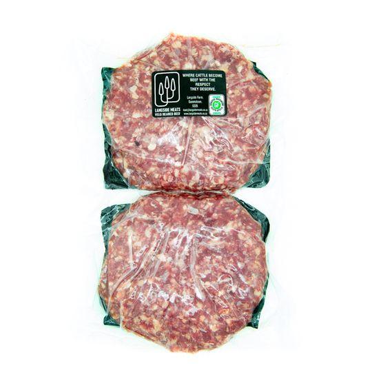 4 Grass-Fed Beef Burger Patties (+- 660g )