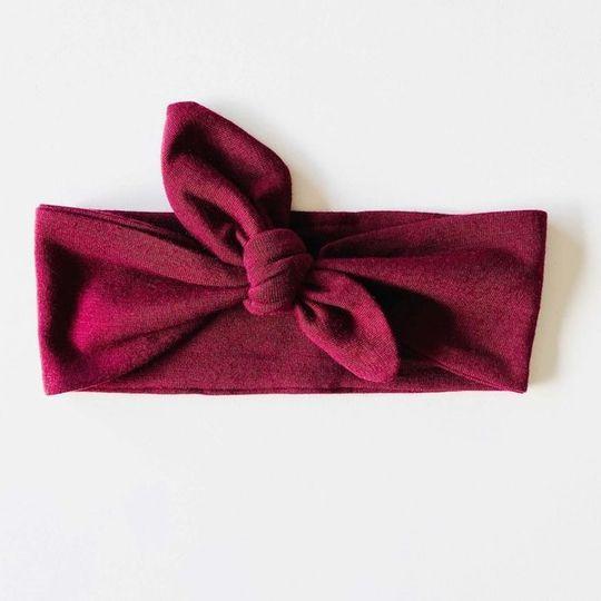 Headband - Burgundy