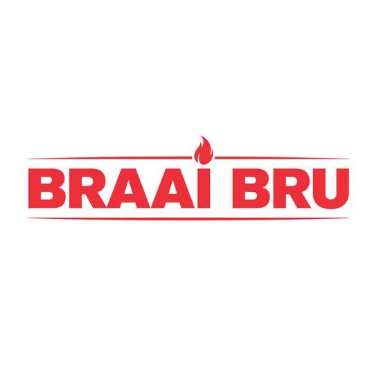 'Braai Bru' Sticker Red