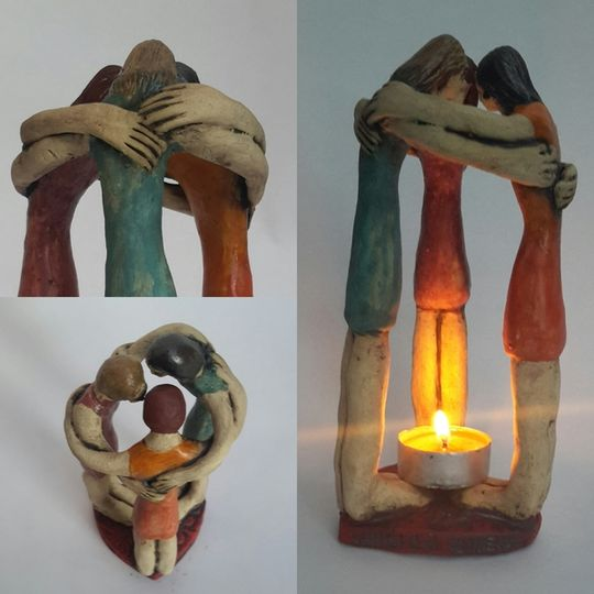 Sculpture,  the joy of connection