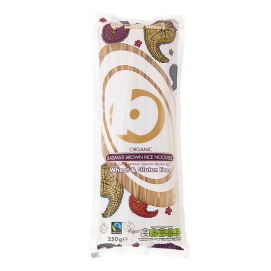 King Soba Organic Basmati Brown Rice Noodles (250g)