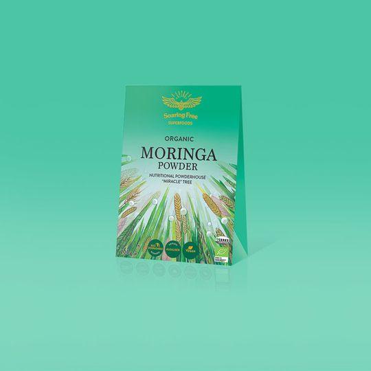 SOARING FREE SUPERFOODS Organic Moringa Powder - 200g
