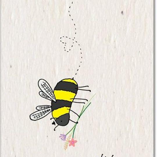 Greeting Card | Bee Love