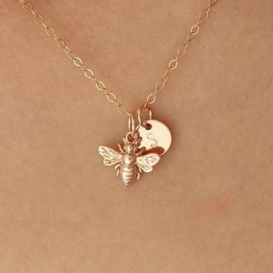 Queen Bee + initial