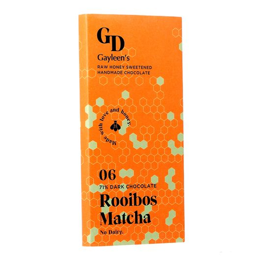 GD New Rooibos Matcha chocolate slab